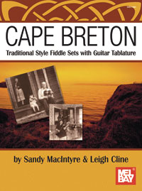Cape Breton Traditional Fiddle Sets with Guitar Tablature